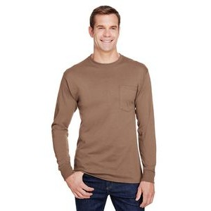Hanes Printables Adult Workwear Long-Sleeve Pocket T-Shirt