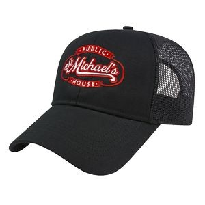 Structured Mesh Back Cap