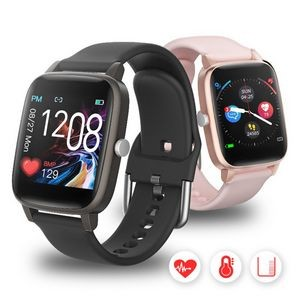 T98 Body Temperature Heart Rate Smart Watch