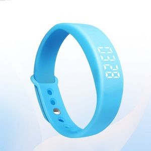 Sports Fitness Tracker Wristband Smart Bracelet Watch Calorie Counter Pedometer Step Counter
