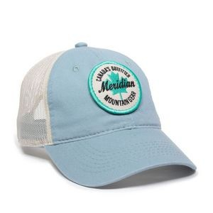 Garment Washed Trucker Hat